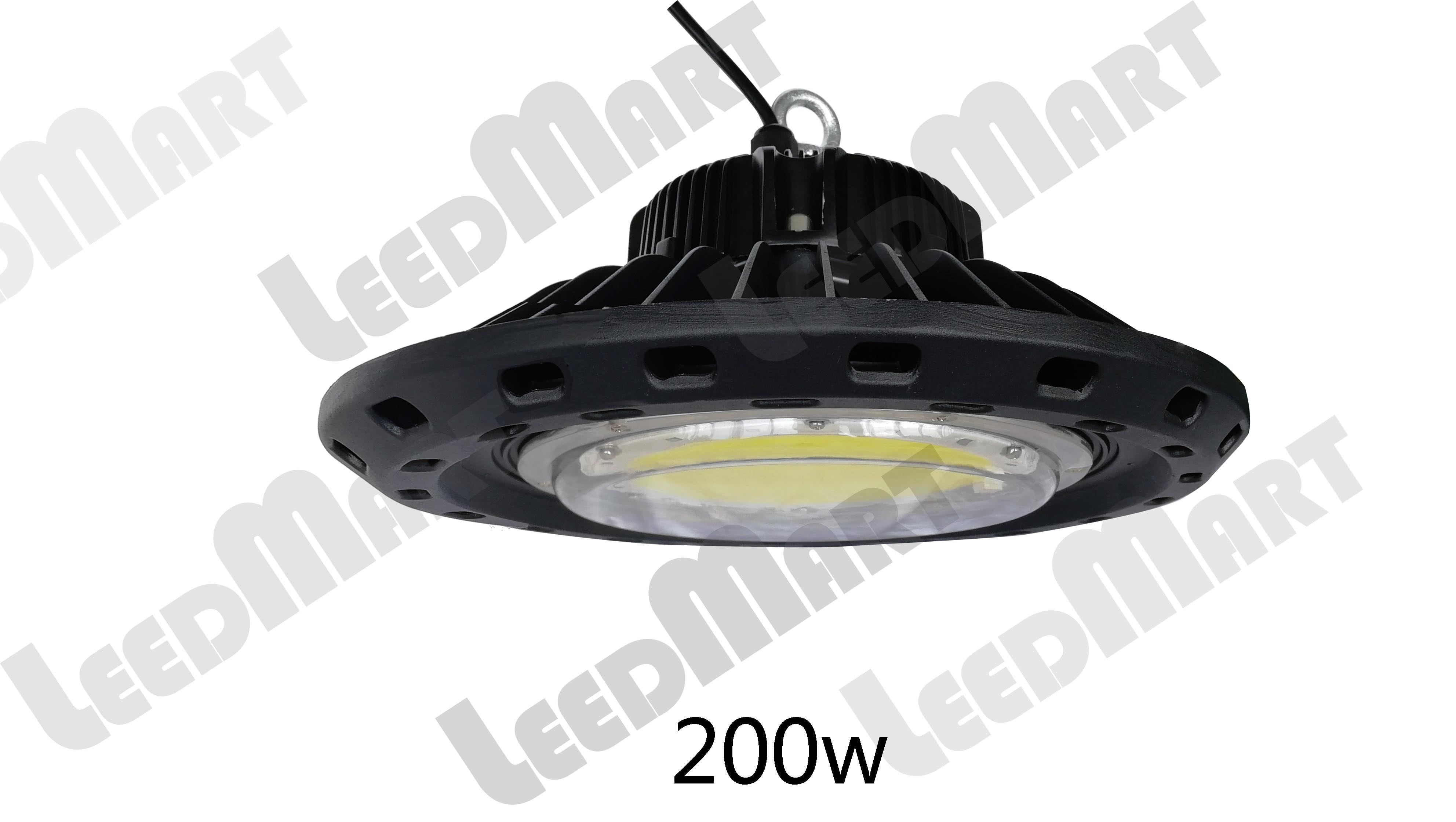 Good quality indoor 100 watt -250 watt 32500 lumen LED UFO high bay light fixture