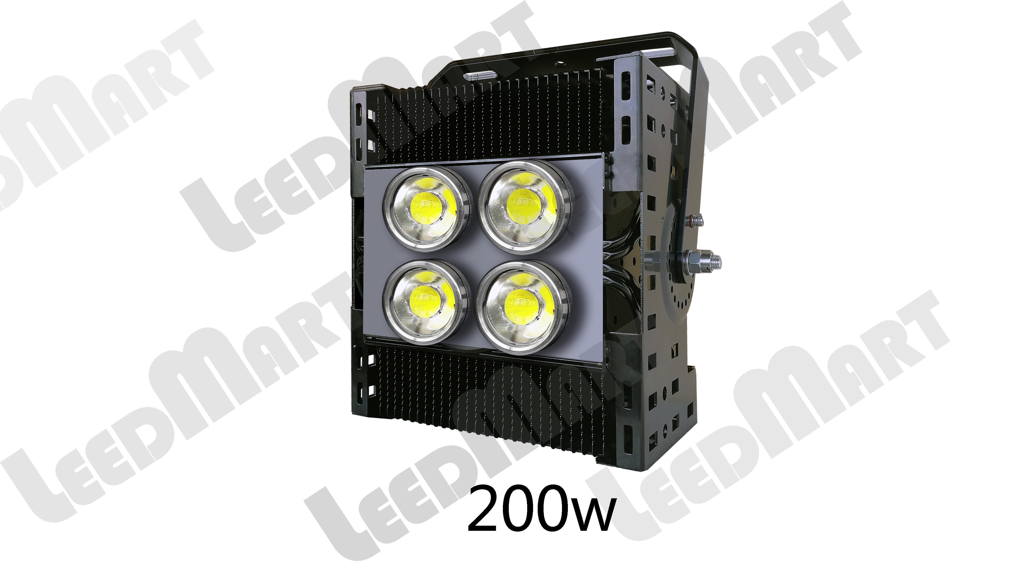 Good quality IP65 200 watt -1000 watt 130000 lumen LED high mast light fixture good heat dissipation