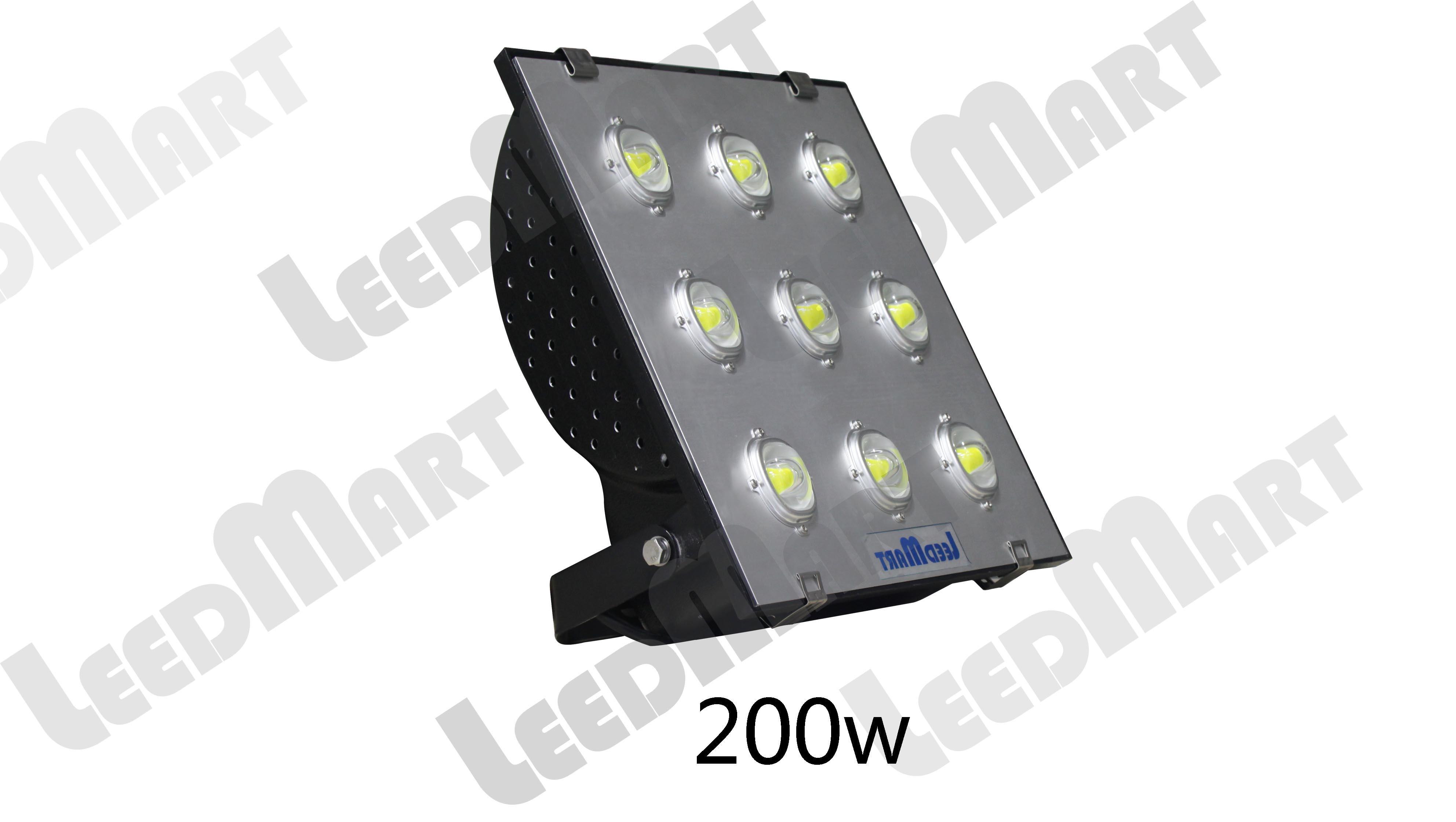 Good quality  IP65 50 watt -200 watt 24000 lumen LED flood light fixture