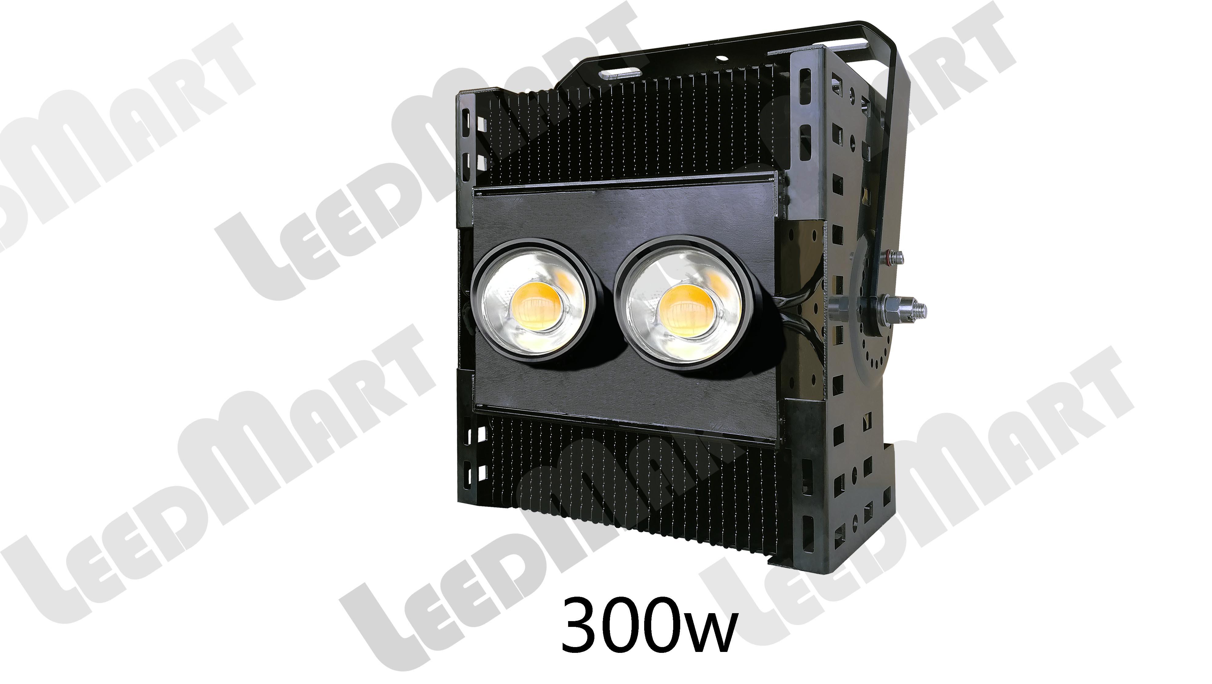 Good quality IP65 300 watt -2000 watt 260000 lumen good heat dissipation LED tower crane flood Lights good thermal dissipation