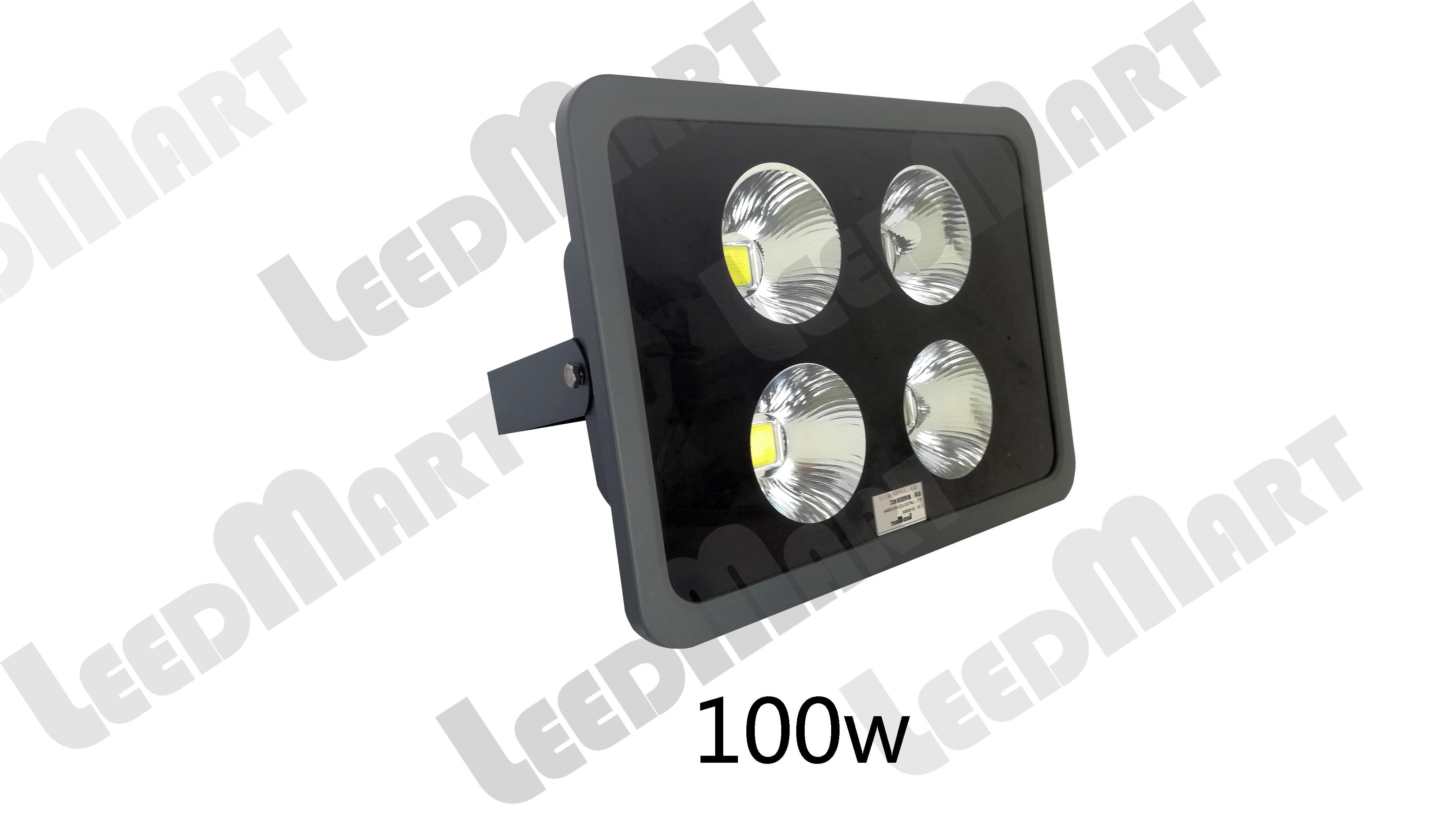 Good quality  IP65 50 watt -200 watt 24000 lumen LED flood light fixture with reflector cup