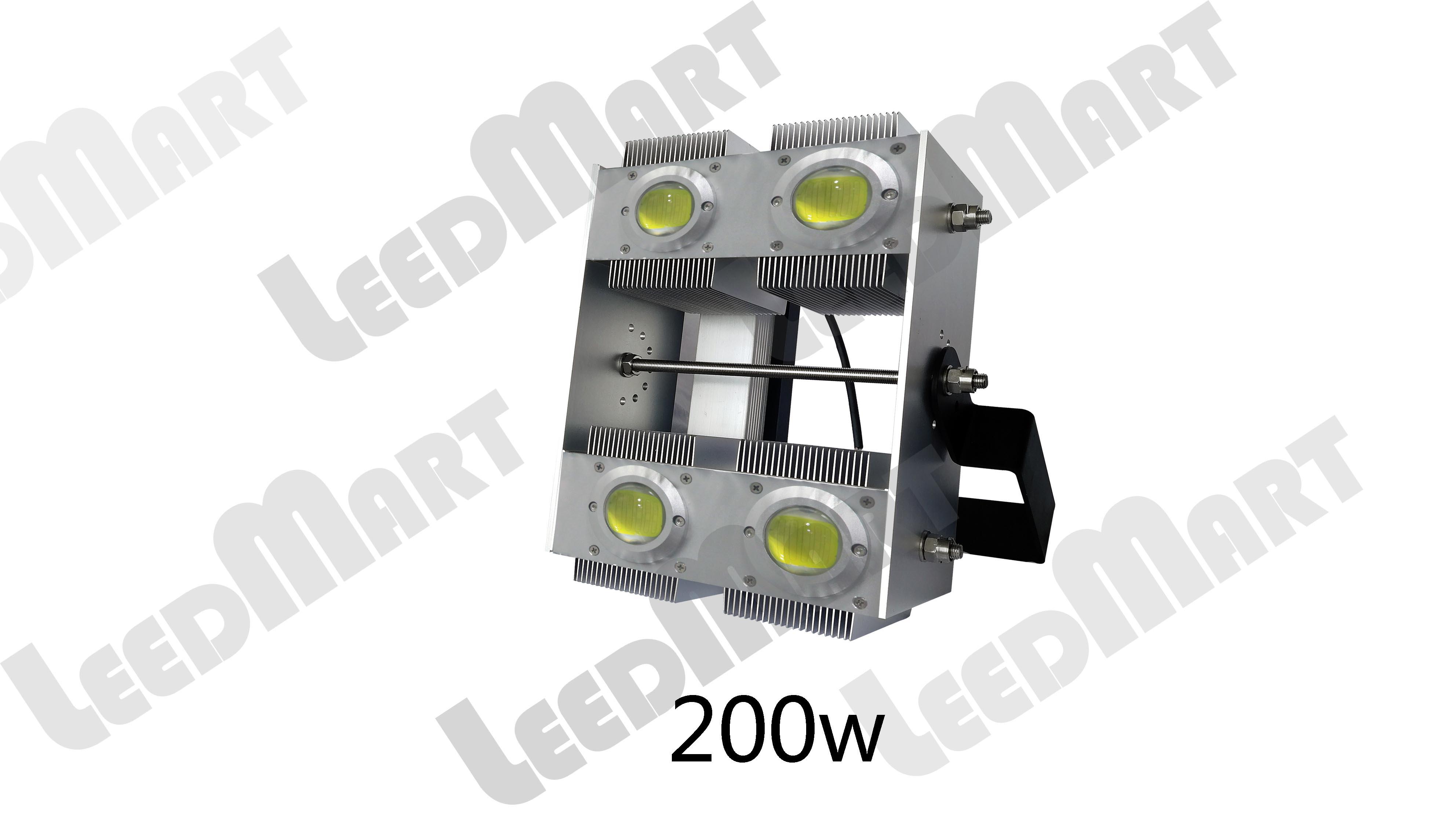 Good quality  IP65 50 watt -200 watt 24000 lumen LED flood light fixture windproof